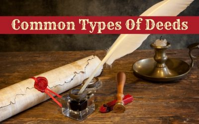 Common Types Of Deeds