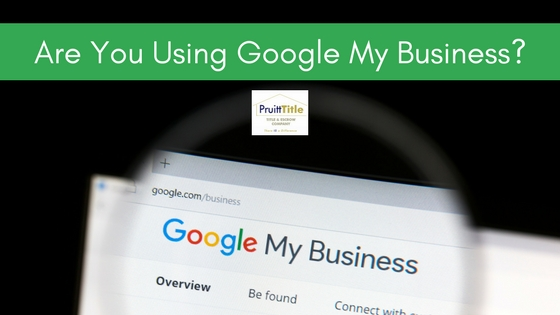 google my business pruitt blog graphic