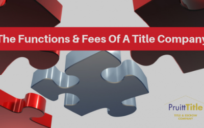 TITLE COMPANY FEES & FUNCTIONS