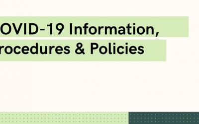 Covid 19 information procedures policies